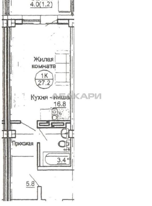 гостинка Карамзина Утиный плес мкр-н за 8500 руб/мес фото 6
