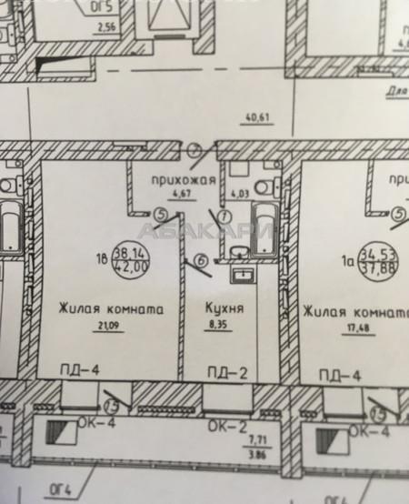 1-комнатная Карамзина Пашенный за 11500 руб/мес фото 1