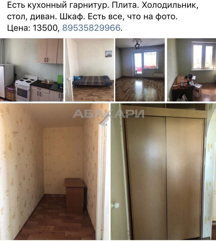 1-комнатная Светлогорский переулок Северный мкр-н за 12500 руб/мес фото 1