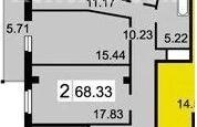 2-комнатная Академика Киренского Гремячий лог за 22000 руб/мес фото 25