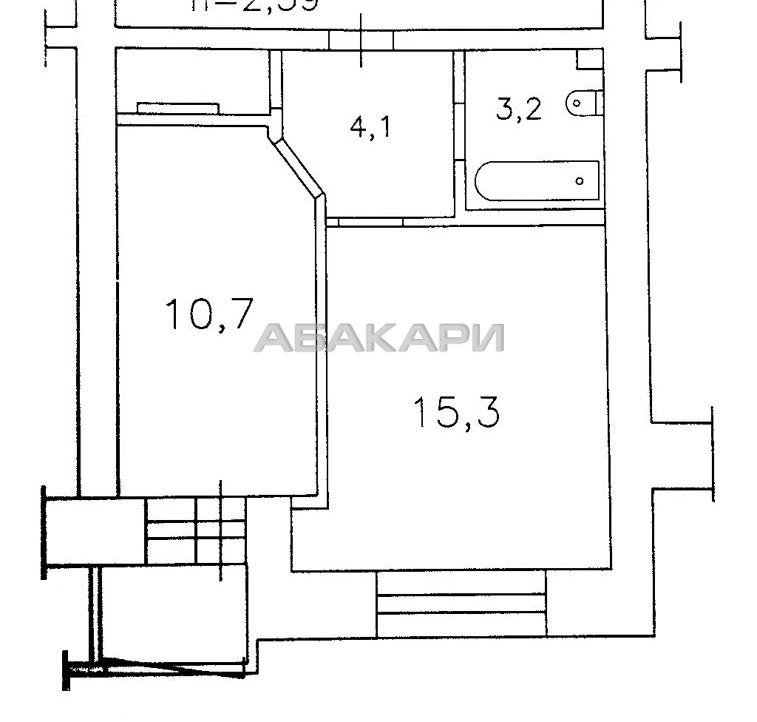 1-комнатная Дачная  за 10000 руб/мес фото 10