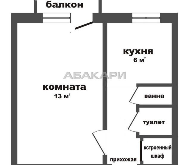 1-комнатная Устиновича Зеленая роща мкр-н за 11000 руб/мес фото 6