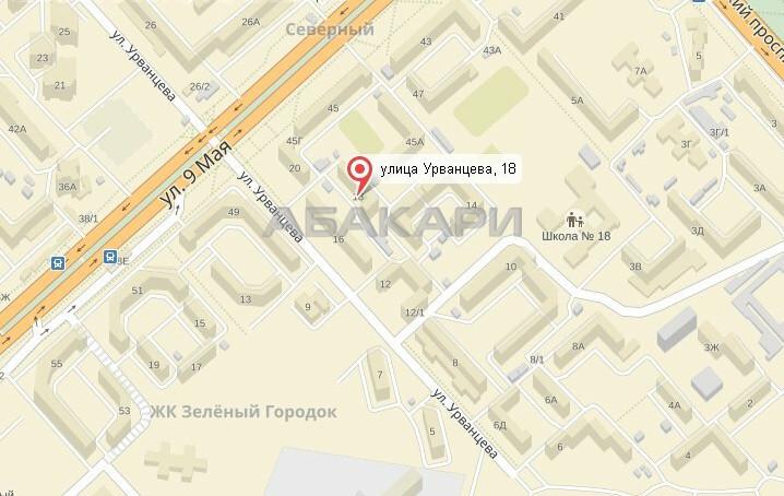 1-комнатная Урванцева Северный мкр-н за 11000 руб/мес фото 4